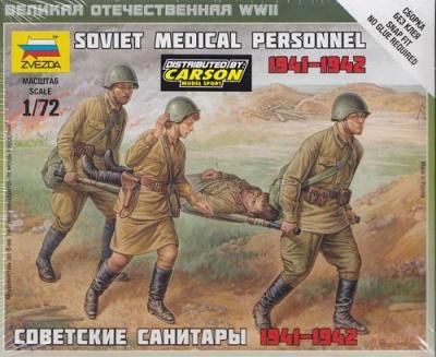 1:72 Soviet Medical Personnel (41-42)