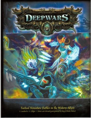 Deep Wars: Rulebook V2.5 (Softcover)