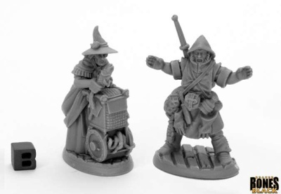 Dreadmere Townsfolk: Fishmongers (2)