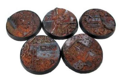 Beveled Edge: 40mm Scrap Yard (5)