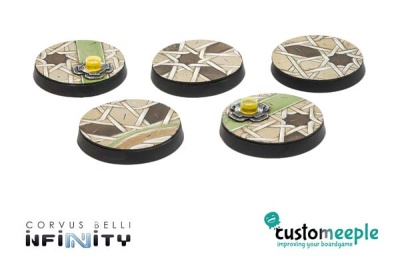 Infinity HAQQISLAM Base Tops by Giraldez - 25mm (5)