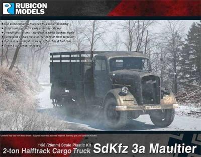 SdKfz 3a Opel Maultier