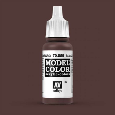 Model Color 035 Schwarzrot (Black Red) (859)