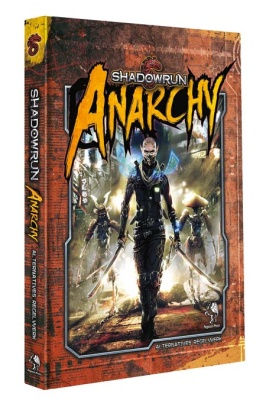 Shadowrun 5: Anarchy (Hardcover)