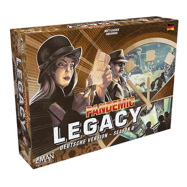 Pandemic Legacy - Season 0 -DE