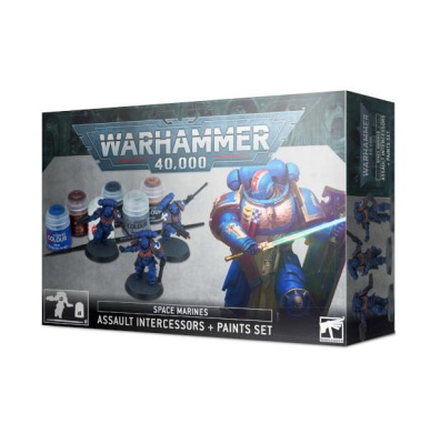 Space Marines Intercessors Paint Set