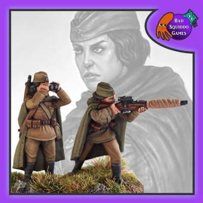 Soviet Sniper Team (Standing)