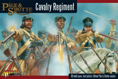 Pike & Shotte Cavalry plastic boxed set (12)