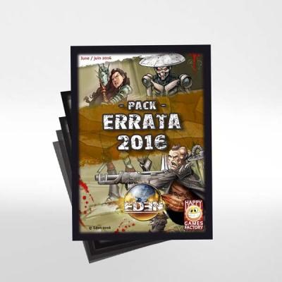 EDEN Deck Pack Errata 2016