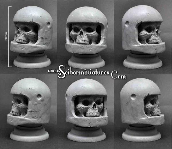 Zombie Astronaut Bust 80mm