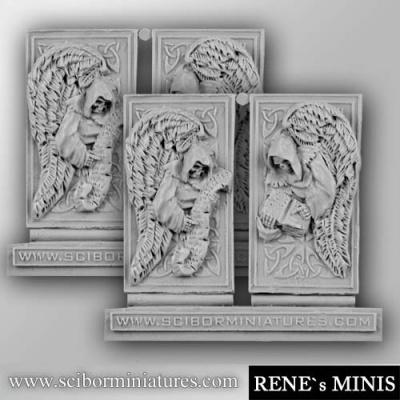 Angels Reliefs #10 (4) (OOP)