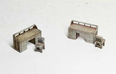 19th c. Desks (x2)