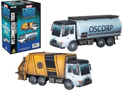 MARVEL CRISIS: NYC Commercial Truck - EN