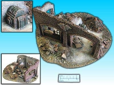Geländestück Fabrikruine