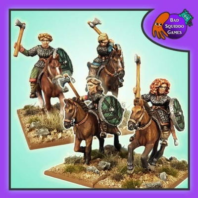 Mounted Shieldmaiden Hearthguard (4)