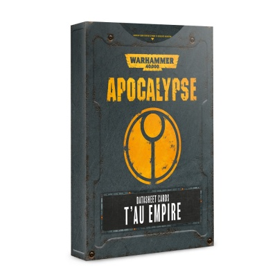 Apocalypse Datasheets: T'au Empire ENGLISCH