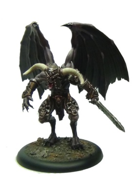 Demon Prince with Wings (1) OOP