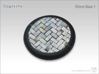 Flagstone Bases 50mm rund 1 (1)
