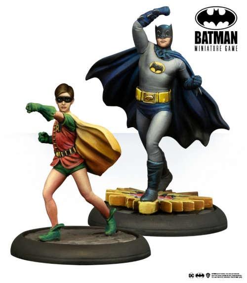 Batman Miniature Game: Batman & Robin Classic TV Series
