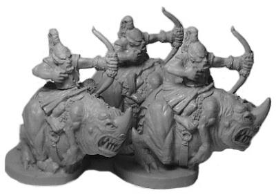 Goblin Carnodon Bowmen (3)