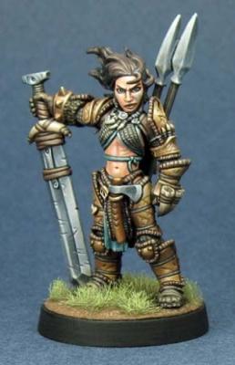 Amiri, Human Barbarian