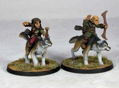 Goblin Wolfriders III (2)