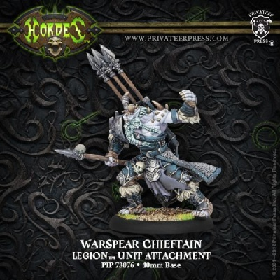 Legion Warspear Chieftain Unit Attachment
