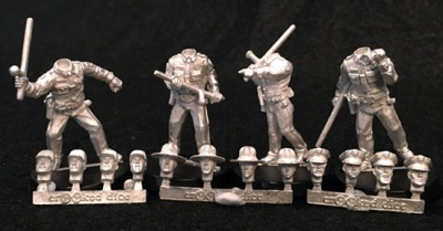 Lawmen with Batons (4)