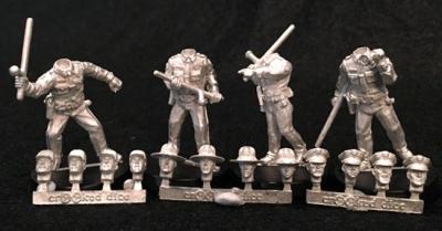 Lawmen with Batons (4)