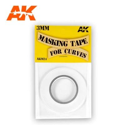 MASKING TAPE FOR CURVES 3 MM. (18m)