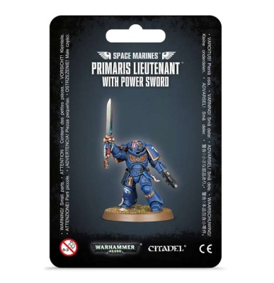 Space Marines PrimarisLieutenant with Power Sword