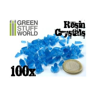 Crystals Resin BLUE