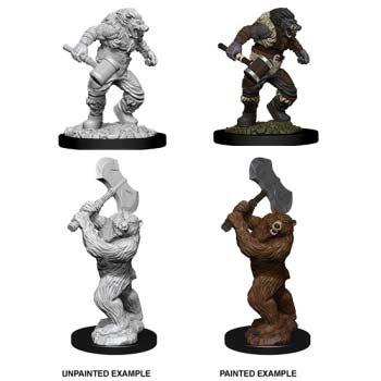 D&D: Wereboar & Werebear