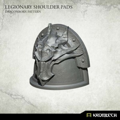 Legionary Shoulder Pads: Dragon Pattern (10)