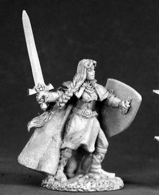 Ava, Female Templar