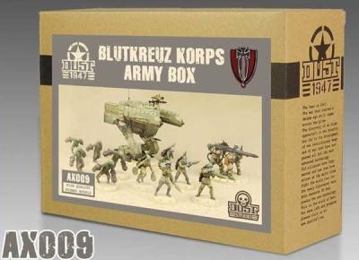 Blutkreuz Korps Army Box