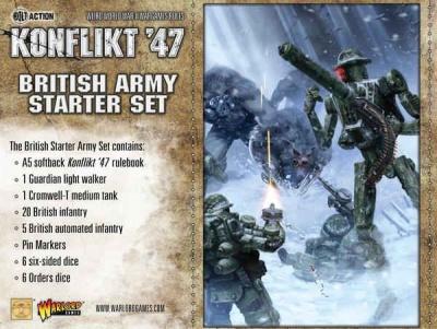 Konflikt`47 British Starter Set