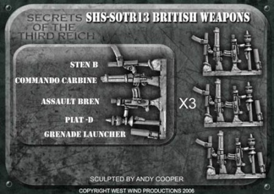 British Weapons Upgrade Pack