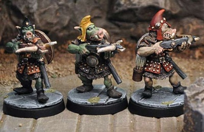 Orc with Crossbow (3 variants)