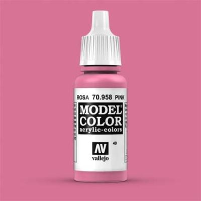 Model Color 040 Rosa (Pink) (958)