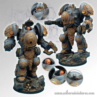 28mm SF Celtic Torin Mech Suit