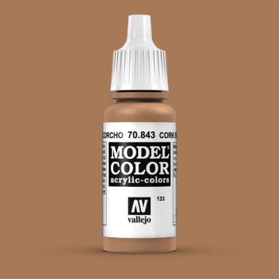 Model Color 133 Sandgelb (Cork Brown) (843)