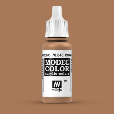 Model Color 133 Sandgelb (Cork Brown) (843)