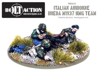 Italian Airborne Breda M1937 HMG Team (3)