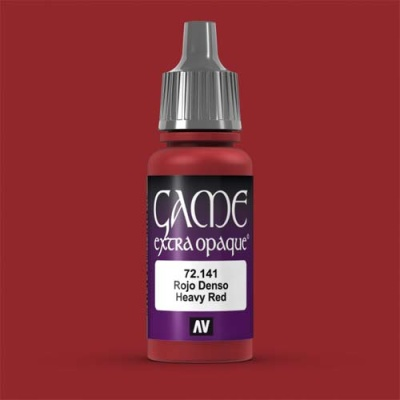 Game Color Extra Opaque Heavy Red 17 ml