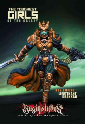 Lieutenant Drakkan, Iron Storm Officer (IE)