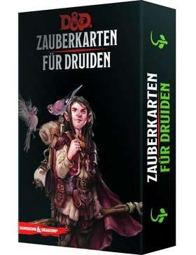 D&D: Zauberkarten für Druiden