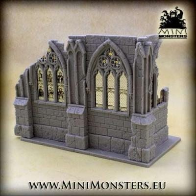Gothic Cathedral (upper left corner)