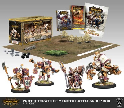 Protectorate of Menoth Battlegroup Starter Box (plastic)
