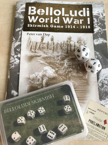BelloLudi Skirmish WW1 Rules Bundle